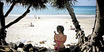 BYRON BAY: Hippier, barnefamilier og pengefolk i skjønn forening i Byron Bay - verdens tredje beste strand, ifølge Tripadvisor.com.