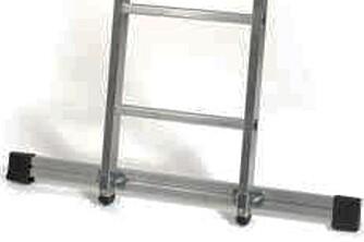STIGESTABILISATOR: Denne gjør stigen sikrere mot sideveis bevegelser.