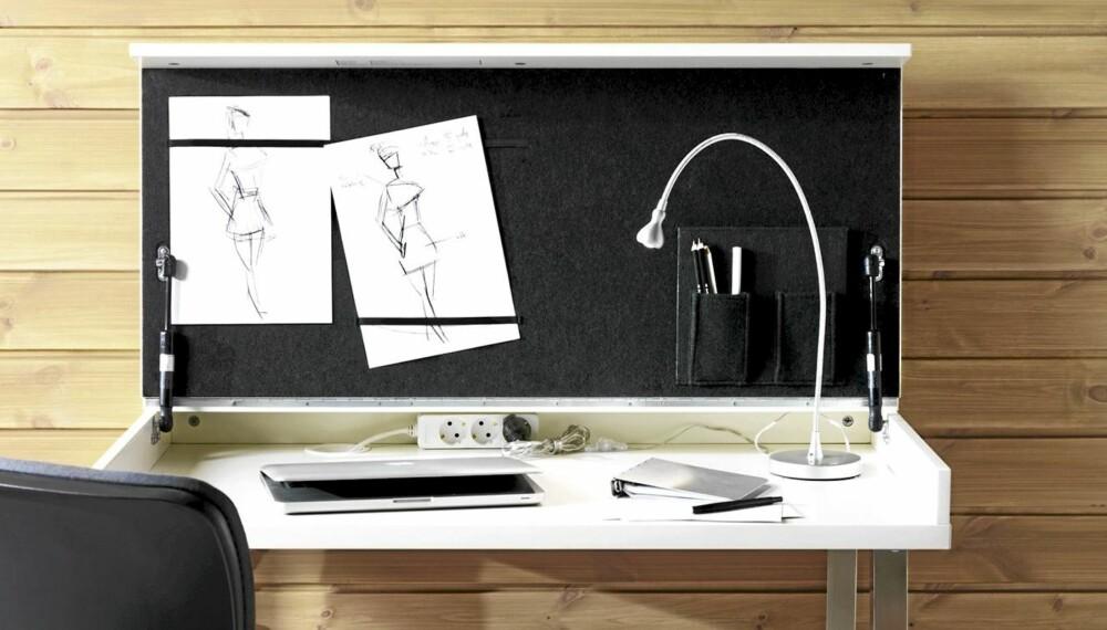 VIKA VEINE: Praktisk og nytt originalt bord, Vika Veine, ment for hjemmekontoret.