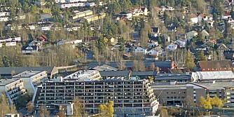 STUDENTBOLIG: Det er er press i studentboligmarkedet, men for de studentene som er villige til å sitte 30 minutter på T-bane eller buss, finnes det leiligheter å leie, som på Stovner i Oslo.