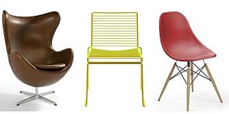 Designstoler trenger ikke være dyre.