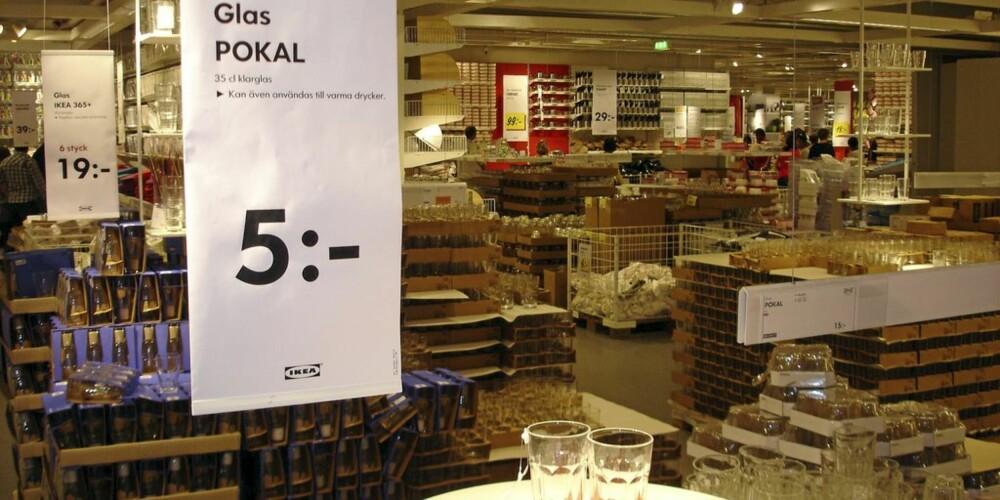 Ikea i Sverige.