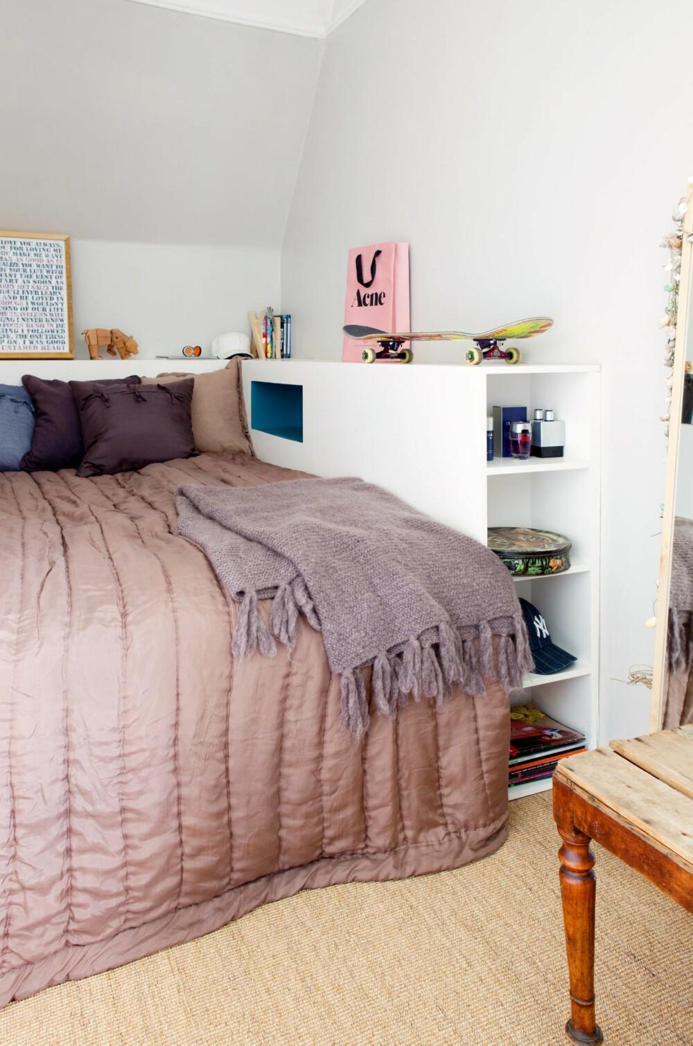 SMART: Smart oppbevaring ved sengen.