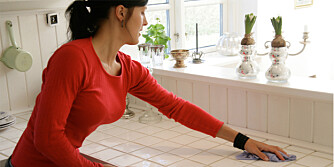 STORRENGJØRING: Der er mange som holder på tradisjonen med en storrengjøring hjemme når våren kommer.