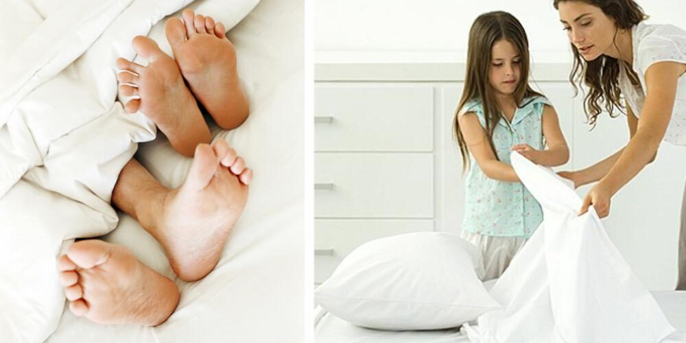 VISSTE DU AT: Har du ofte sex, bør du bytte oftere på sengen.