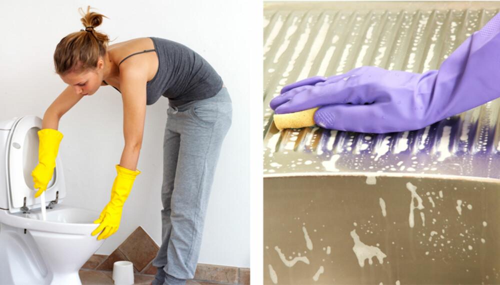 VEKK, VEKK: Noen steder er skitnere enn andre i hjemmet ditt. Slik går du frem for at det skal bli rent.