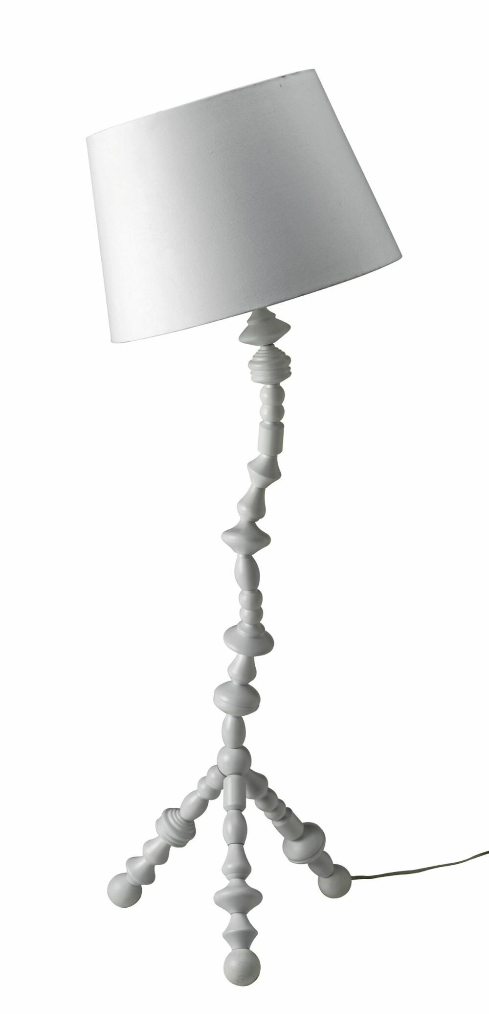 KROKET: Ikea sin nye lampe PS Svarva har en sjarmerende og skjev form. Den passer perfekt til den lekne som ønsker et ikke-perfekt uttrykk.