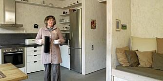 BESTEMORS SEKSJON: Liv bor vegg i vegg med sin datters familie, og i omtrent samme omgivelser.