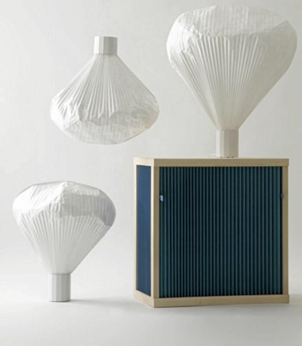 LYSKILDE: Lampen Vapeur har et vakkert uttrykk. Denne er å få kjøpt i interiørbutikken Kvist.