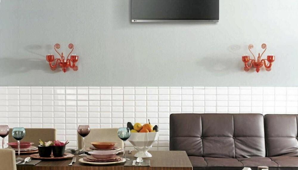 MINIMALISTISK: LG innedeler kan benyttes på det som kalles multisplittanlegg. Det betyr at du kan varme opp større deler huset ved å plassere en inndel i for eksempel hver etasje.