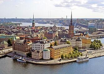 SOMMERIDYLL: Stockholm med sin perfekte posisjon midt i skjærgården passer ypperlig for deilige sommerdager med storbypuls.