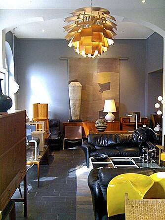 KULT INTERIØR: Modernity er viden kjent for sin kule miks av møbler og skandinavisk design.