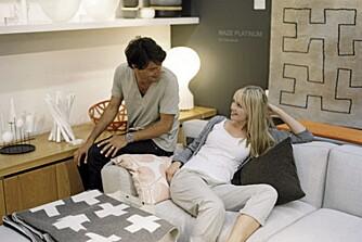 MODERNE: La deg friste av moderne og lekkert interiør hos Asplund.