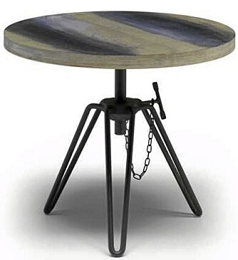 RØFF: Dette bordet fra Diesel Home Collection kan du få tak i hos Garbo Interiors.