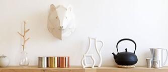 MINIMALISTISK: Hos Kiki shopper du japansk design.