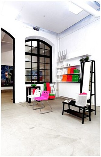 HIP OG TRENDY: Shop interiør hos Snickarbacken 7. Stedet er både butikk og kafé.