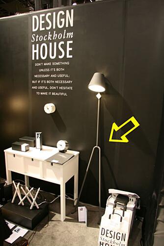 TRENDY: Finn kule ting til huset hos Design House Stockholm.