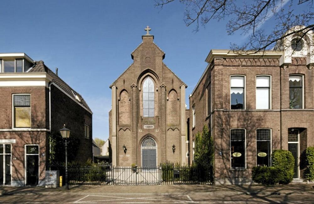 HELLIG HUS: Den gamle kirken i Utrecht i Nederland ble til et flott hus.