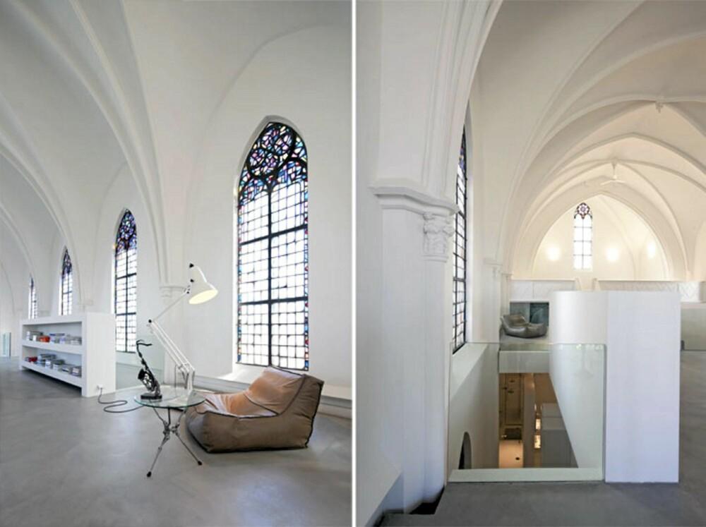 BOLIGDRØM: Zecc Architects gjorde designerdøm av den gamle kirken