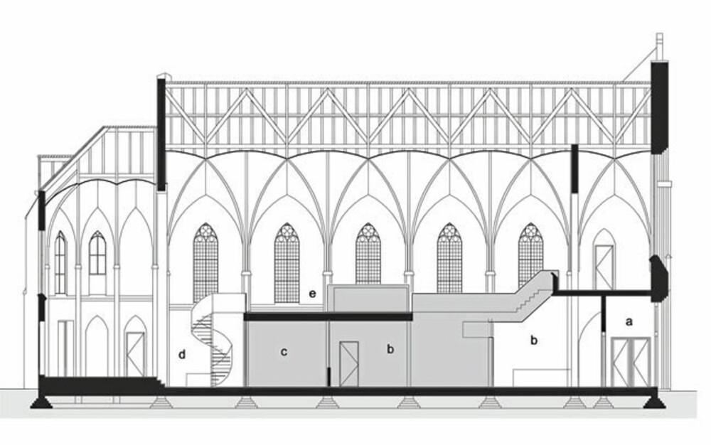 NYE TIDER: Nedlagt kirke ble gjort om til designbolig.