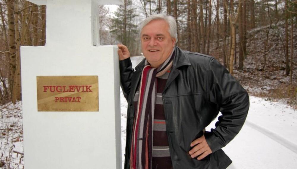 OPPGITT: Peter Batta, adm. direktør i Huseiernes Landsforbund (HL), har hytte i Fuglevik på Jeløya i Moss. Han er oppgitt over at kommunen har innført eiendomsskatt på hytter.