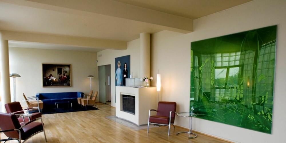 VILLA STENERSEN: Det var forretningsmannen og kunsthandler Rolf E. Stenersen som i 1937 fikk bygget tegnet av arkitekten Arne Korsmo, en av mellomkrigstidens mest sentrale norske arkitekter.