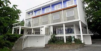 RESTAURERT:  Villa Stenersen i Oslo. Funkis-stil .