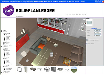 Innred hjemmet ditt rom for rom med boligplanleggeren.