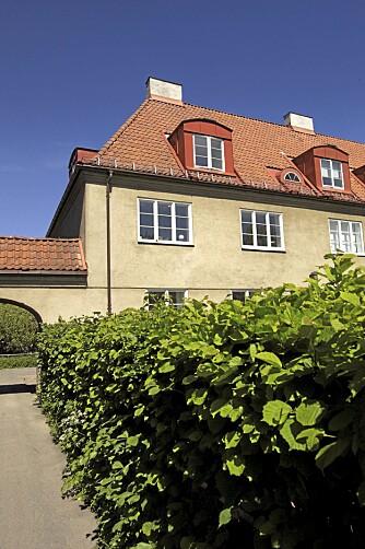 ULLEVÅL HAGEBY: Ullevål Hageby (1915-22) ble tegnet blant annet av den idealistiske og dyktige arkitekt Harald Hals. Det er Norges største og vakreste eksempel på kommunal boligbygging, skriver Arne Gunnarsjaa  i Norges Arkitekturhistorie.