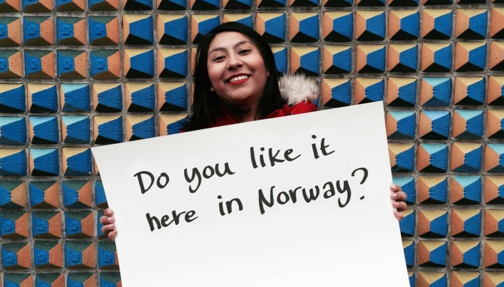 KRISTINE KRANE: Journalist. Adoptert fra Peru.