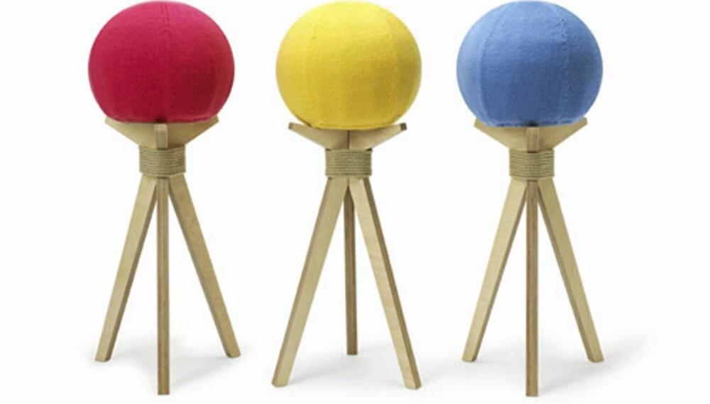 """KULEKRAKKER: """"Dandelion Stool"""" er ifølge designeren inspirert av naturlig skjønnhet, DesignK, designk.so.uk"""