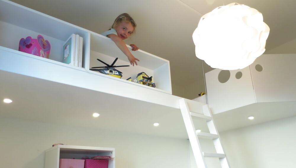 HEMS: En hems er en genial og plassbesparende løsning på små barnerom.