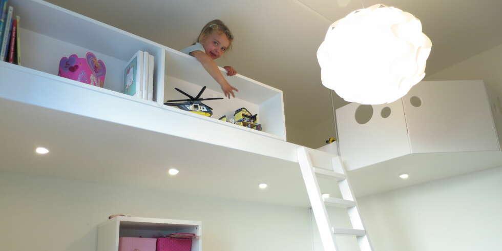 ... : En hems er en genial og plassbesparende løsning på små barnerom