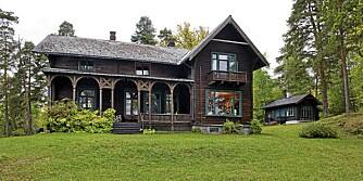 POPULÆR BOLIG: Denne boligen på Konglungen i Asker har mange tittet på i 2011. Eiendommen omtales som en av de vakreste i Oslofjorden. Prisantydning 35 000 000.