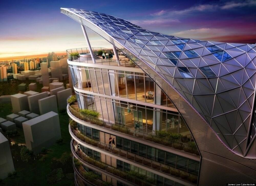 SATSER PÅ RIKE KJØPERE: Arkitekt og utvikler James Law satser på kjøpere som ikke er er det fattige slaget.