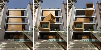 ROTERER: Sharifi-ha House i Teheran kan forandre seg etter ønske, behov og sesong.