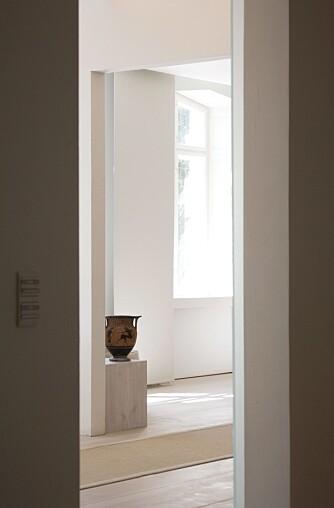 BRUK GOD TID: Du skal kjenne rommene i hjemmet ditt godt, og hvite hvor og når du får godt naturlig lysinnfall, før du lager belsyningsplanen.