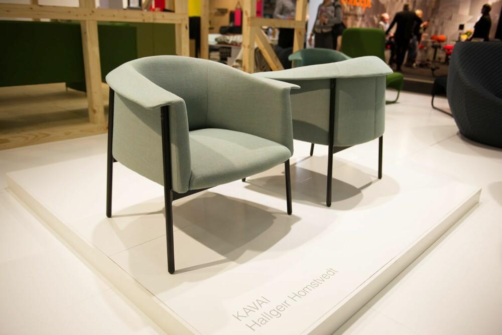 MASKULIN UTKRAGNING: Stolen Kavai er designet av Hallgeir Homstvedt for Hjelle