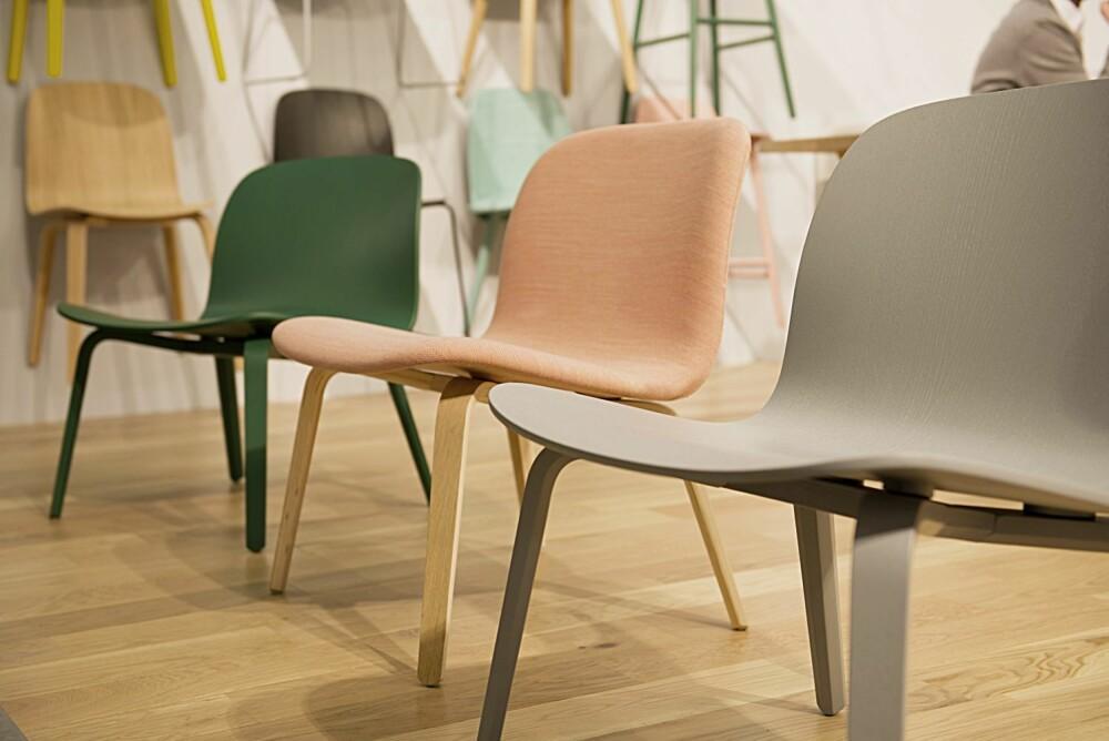 LAVMÆLT ELEGANSE: Loungeversjonen i Visu-familien er designet av Mika Tolvanen for Muuto.