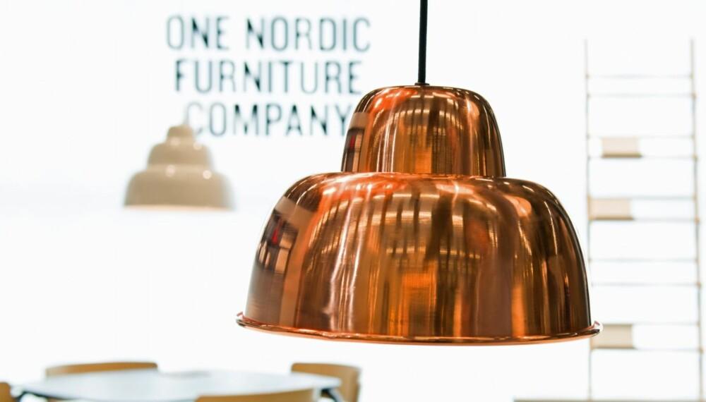 PRISVINNENDE LAMPE: Pendellampen Levels ble kåret til messens beste produkt.
