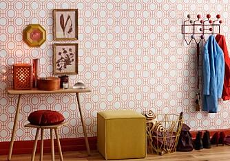 JA TIL FARGERIKE HJEM: Er du en av de som ikke helt tør å slå deg løs på fargefronten i hjemmet? Da er det på tide å gjøre noe med det. Farger gjør deg glad!