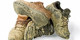 UNNGÅ SKITT: Vi vil jo ikke at skitne sko skal møkke til inne. Da kan gode dørmatter være en løsning.