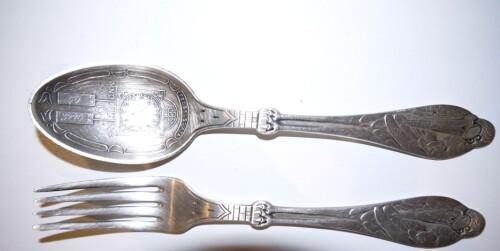 ETTER: Rent sølvbestikk.