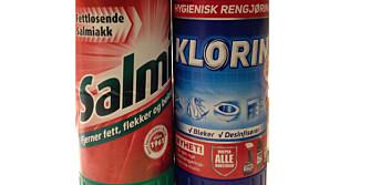 GIFTIG: Blanding av rengjøringsmidler som innholder hypokloritt (Klorin) og ammoniakk (Salmiakk) danner den giftige gassen kloramin.