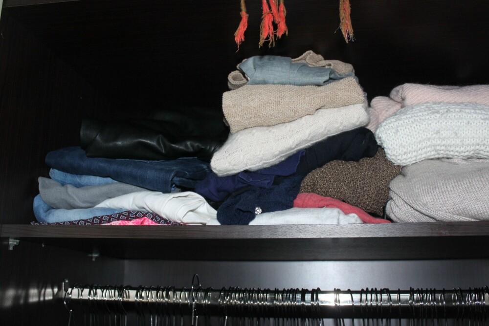 BRETT: Ikke la det bli kaos i klesskapet. FOTO: Trine Jensen