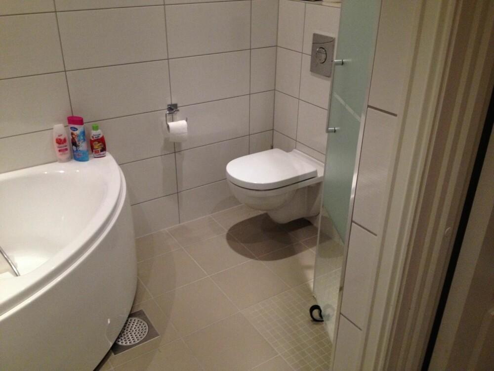 KJAPP VASK: Et lekkert og rent bad er viktig om du venter gjester. FOTO: Trine Jensen