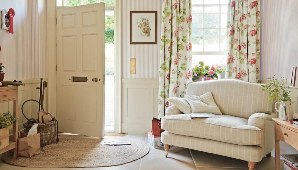 LANDLIG DRØM: Hvem drømmer vel ikke om et koselig, varmt og behagelig hjem som dette?