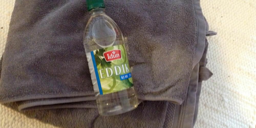 LITEN HJELPER: Du har sikkert denne lille flasken i matskskapet allerede.