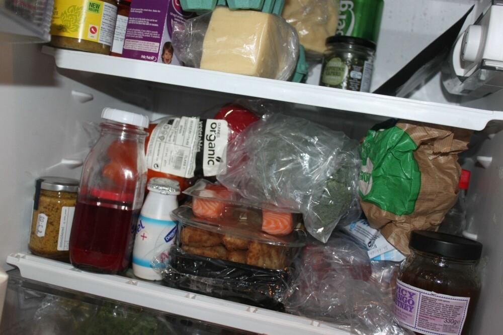 MATLUKT: Sliter du med vondt lukt i kjøleskapet kan te hjelpe deg med dette også. FOTO: Trine Jensen