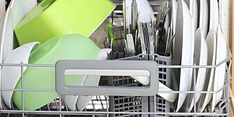 RETT INN: Skyller du oppvasken før du setter i maskinen? Det er som oftest helt unødvendig.